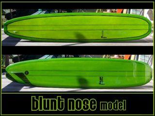 Longboard Daniels Blunt Nose tabla surf