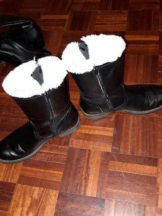 botas con peluche por dentro