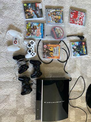 PlayStation 3 + 7 juegos