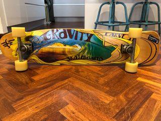 Longboard gravity