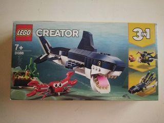 Lego creator 3 en 1 tiburón.