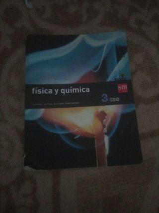 libro Física y química Savia SM 3ESO