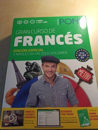 Gran curso de francés Pons