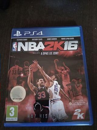 juego NBA2K16 ps4