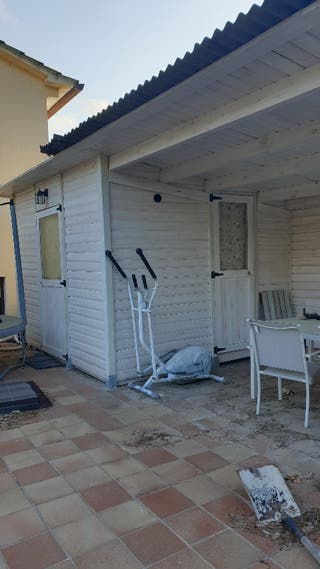 Casa de madera tratada en Blanca