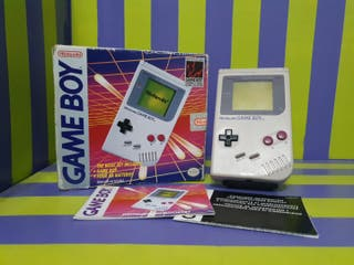 Nintendo Game Boy clasica DMG-01 Completa