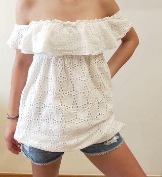 Vestido corto / blusa Oysho