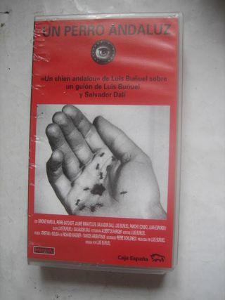 película VHS Un perro andaluz Luis Buñuel