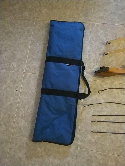 arco de madera y kit de tiro con arco
