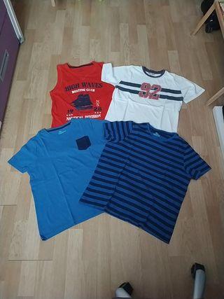 Lote camisetas niño