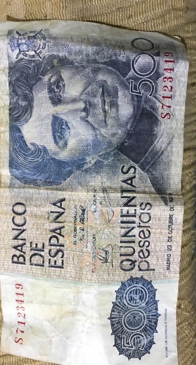 Billetes antiguos precio a convenir