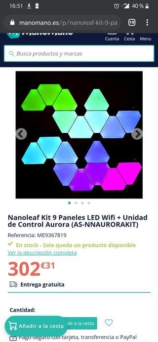 Paneles LED Gaming