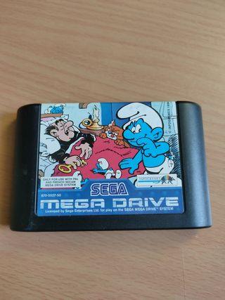 Los Pitufos para la Sega Megadrive