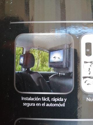 Reproductor DVD 2 pantallas para Coche