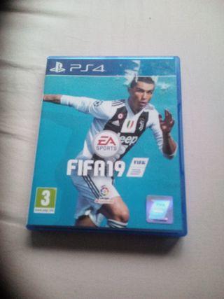 Videojuego FIFA 19 PS4 Playstation 4