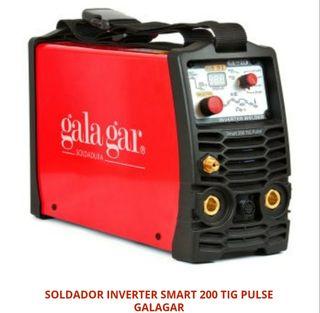 SOLDADOR INVERTER SMART 200 TIG PULSE GALAGAR