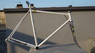 cuadro bicicleta clásica