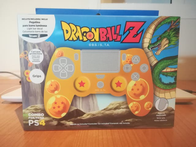 Carcasa Mando PS4 Dragon Ball Z (Nuevo)