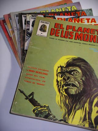 El planeta de los monos coleccion completa Vertice
