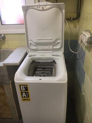 Lavadora de carga superior de 6 kg y clase A+++