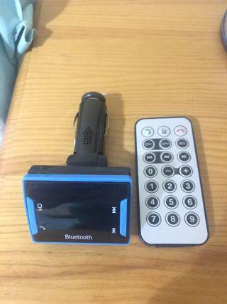 Bluetooth coche para música y llamadas