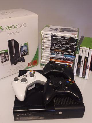 xbox 360 y juegos