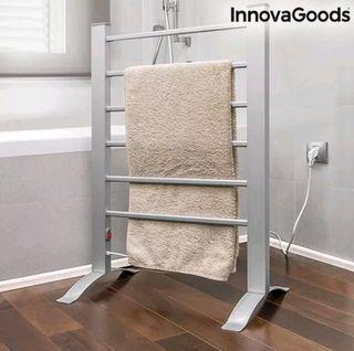 Toallero eléctrico de pared y pie 90W 6 barras