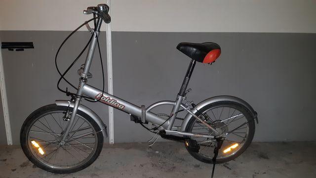 Bicicleta plegable + funda