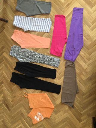 pantalones y mallas cortas de verano para niña