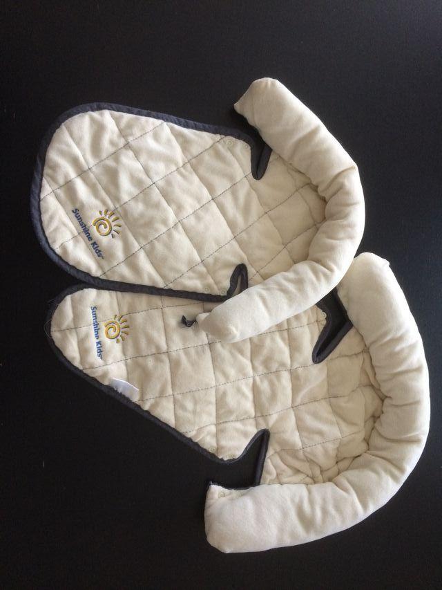 Reposacabezas doble de silla coche bebé para viaje