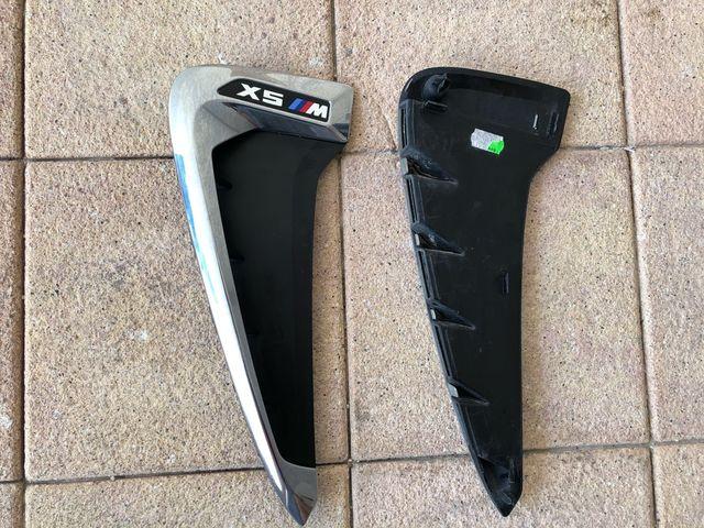 Emblemas aletas delanteras BMW X5M F85