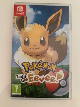 Juego Pokemon: Let's Go, Eevee!