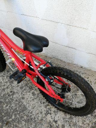 Bicicleta para niños/as 16 pulgadas