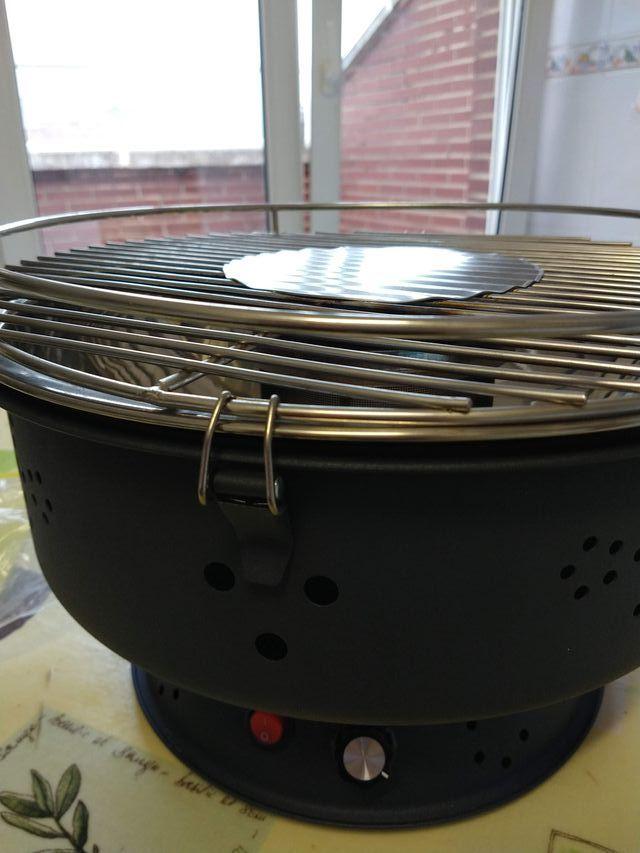 Barbacoa de carbón portatil