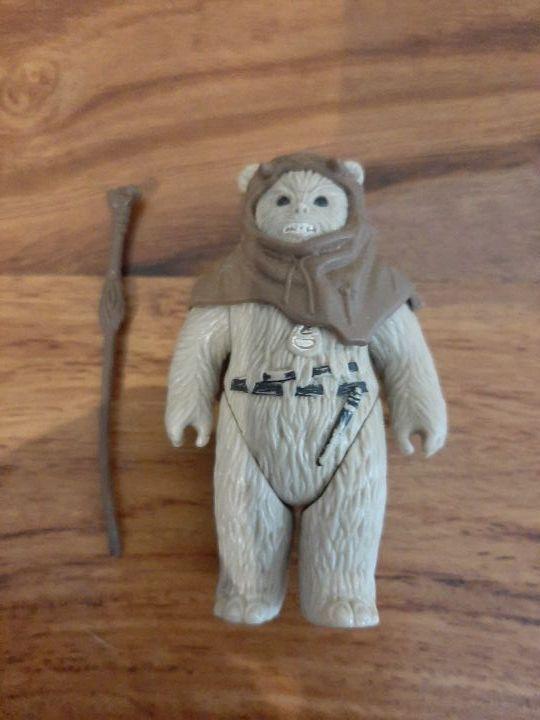 Star Wars ewok chirpa vintage