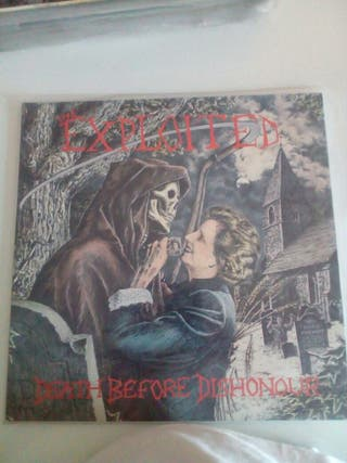 """EXPLOITED """"Death berfore dishonour"""""""