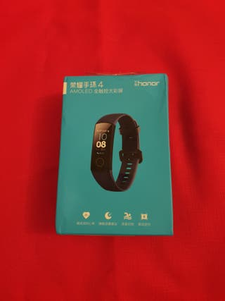 Pulsera Huawei Honor 4 band precintada negra.