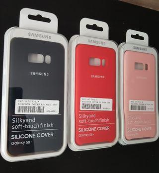 Funda Original Samsung S8 Plus de silicona