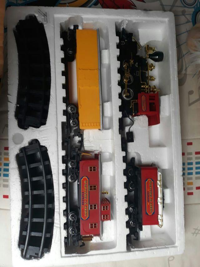 scalextric tren