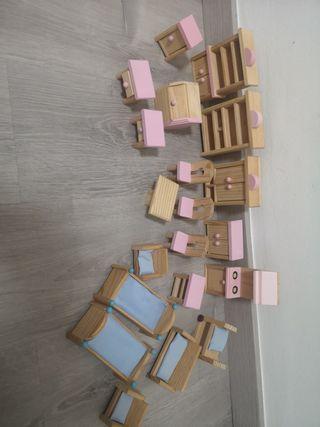 Muebles casa muñeca