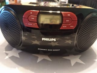 equipo de música phillips
