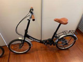 Bicicleta urbana+casco+apliques. Madrid