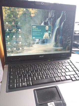 portátil Acer aspire 5610z con 120gb de disco y 2g