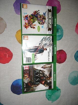 Pack de juegos exclusivos (XBOX ONE)