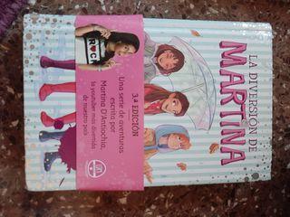 libro juvenil Martina