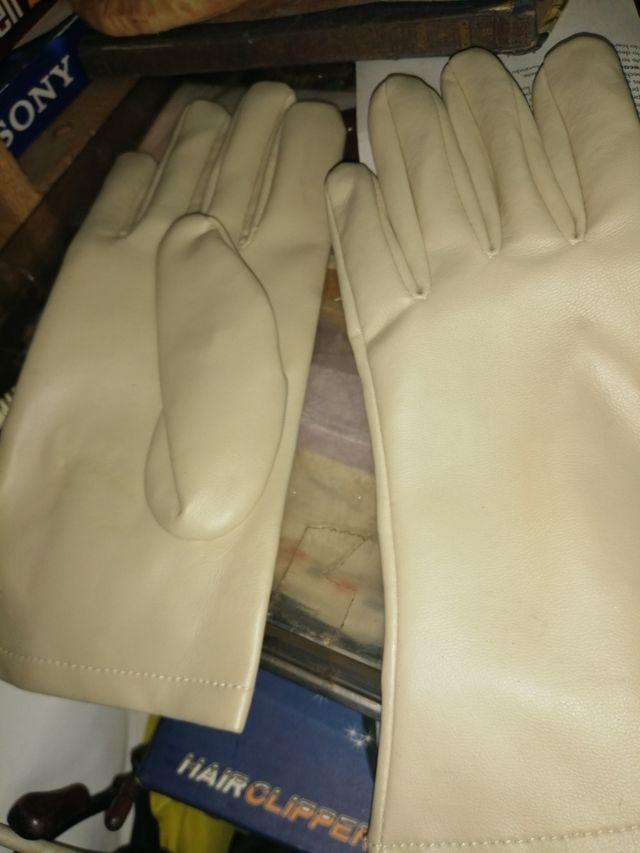 guantes antiguos de mujer