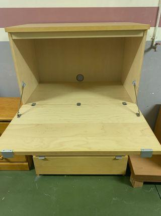 Mueble escritorio con cajones