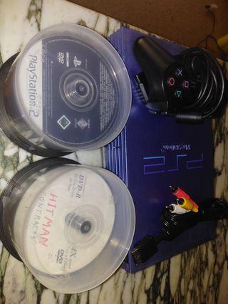 play station 2 edición limitada aqua