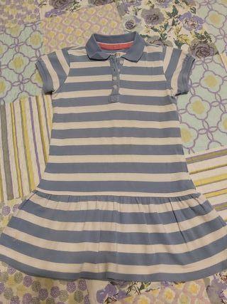 Vestido niña. Talla 3-4 años.