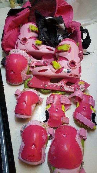 se venden patines para niña